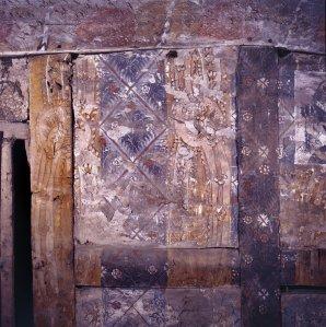 Althrey Hall wallpainting